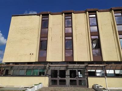 Facciata palazzo Dipartimento Giustizia Minorile e di Comunità - Roma