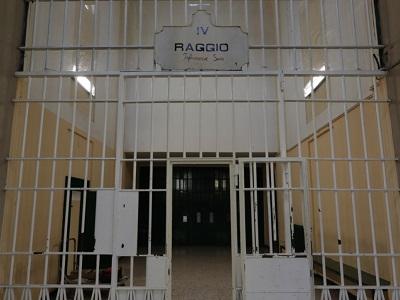 Interno del carcere di San Vittore