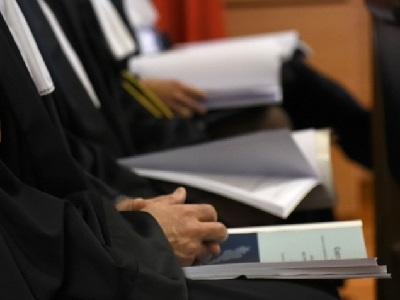 Magistrati in udienza
