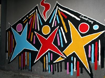 Murales a Napoli contro la violenza sulle donne