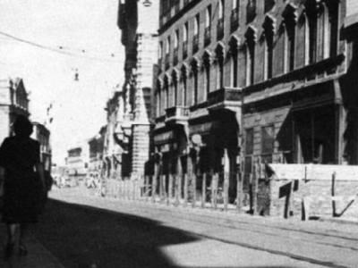 Un'immagine dell'GHotel regina di Milano negli anni 40