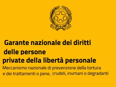 Logo Garante nazionale dei diritti dei detenuti
