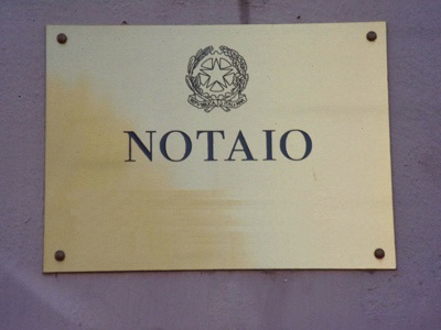 Targa generica studio notarile