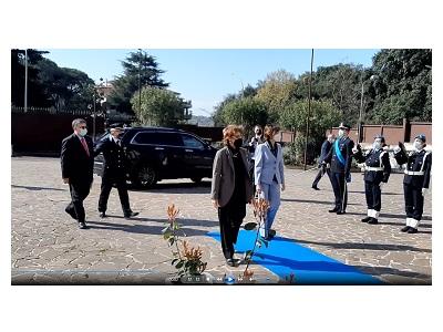 Visita della ministra Marta Cartabia al Dipartimento della Giustizia minorile e di comunità
