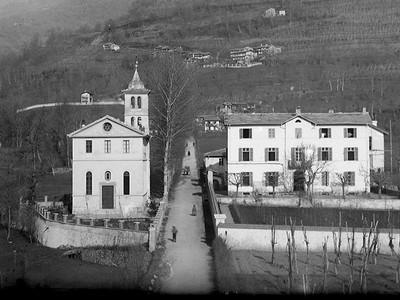 L'attuale sede della Diaconia Valdese a Torre Pellice (To) e l'antico orphelinat