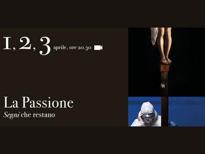 """Locandina """"La Passione"""" alla Certosa di Parma"""