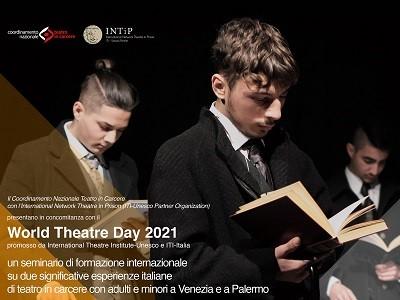 Locandina world theatre day 2021