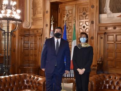 La Ministra Marta Cartabia incontra il Ministro della giustizia maltese, Edward Zammit Lewis