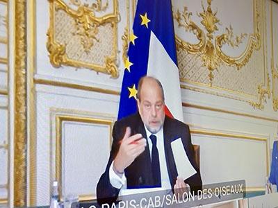 Ministro della Giustizia francese Éric Dupond-Moretti