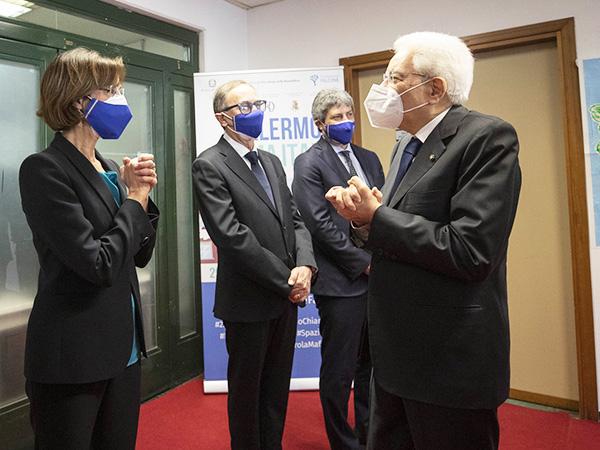 La ministra Marta Cartabia e il Presidente Mattarella