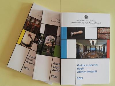 Archivi notarili: pubblicata la Guida ai servizi 2021