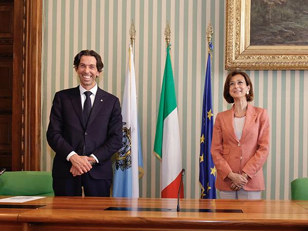 Marta Cartabia e Massimo Andrea Ugolini
