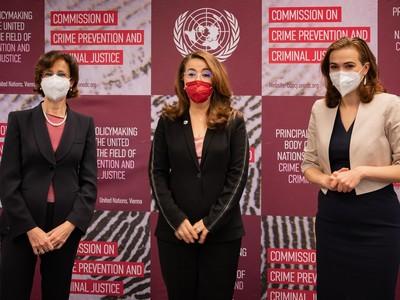 Cartabia, bilaterale con Ministro austriaco e Direttore UNODC