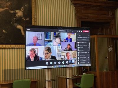 schermo commissione processo penale