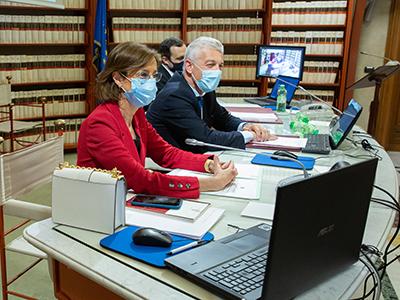 Marta Cartabia in Commissione Giustizia
