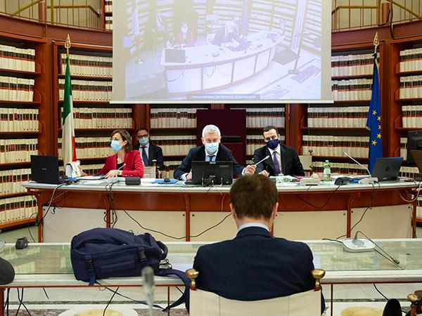 Marta Cartabia in commissione antimafia