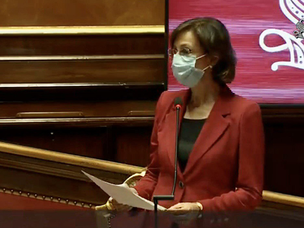 Prof.ssa Marta Cartabia in Senato