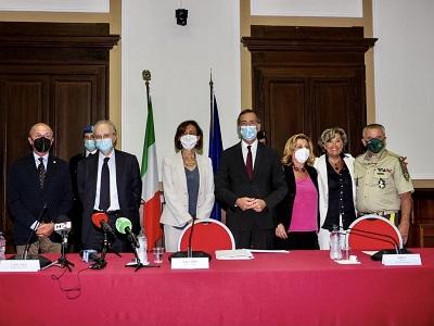 Firma protocollo a Milano 26 luglio 2021