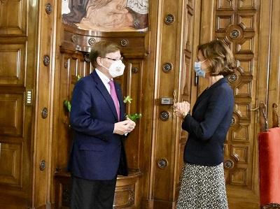 La ministra Cartabia incontra il ministro tedesco
