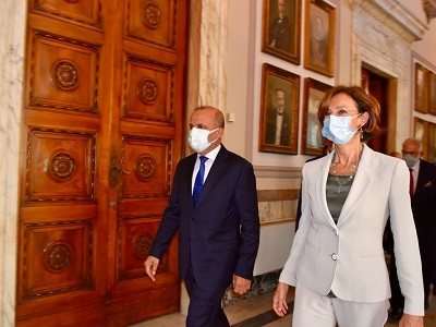 Incontro Cartabia-vice Presidente libico Abdullah Husain Al-Lafi