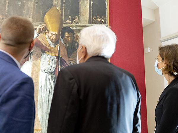 Mattarella e Cartabia in visita a Nisida