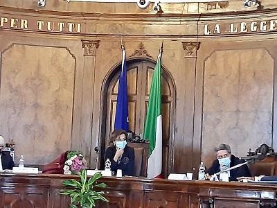 La Ministra Cartabia in visita alla Corte di Appello di Venezia
