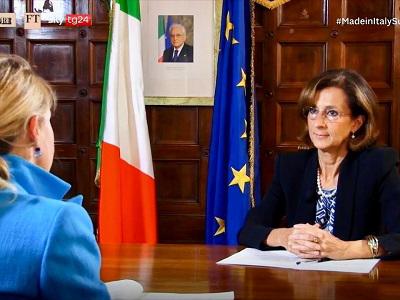 Marta Cartabia in conversazione con Silvia Sciorilli Borrelli del Fiancial Times