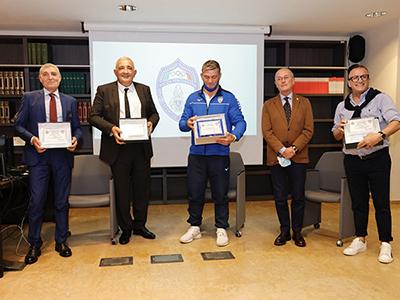 Premiazione di Clemente Russo